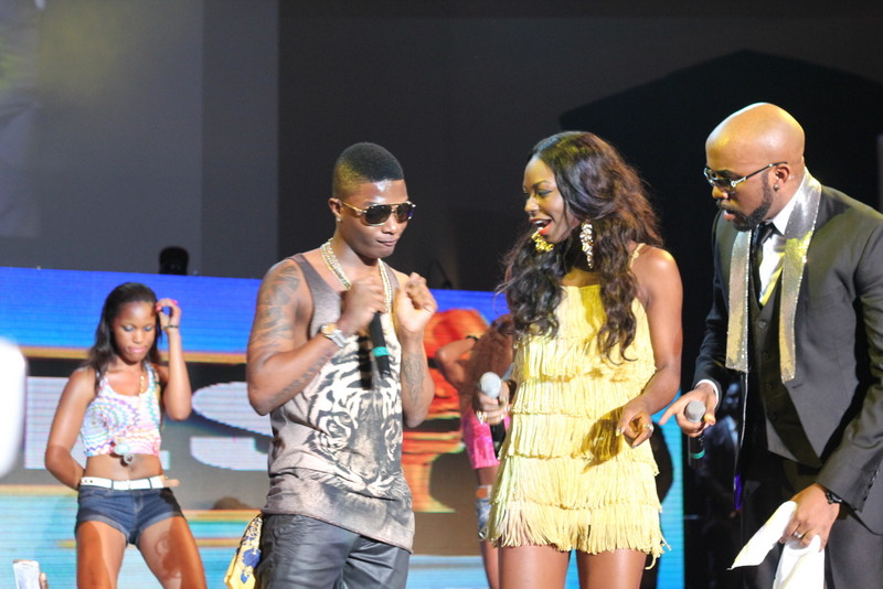 Wizkid, Niyola and Banky W