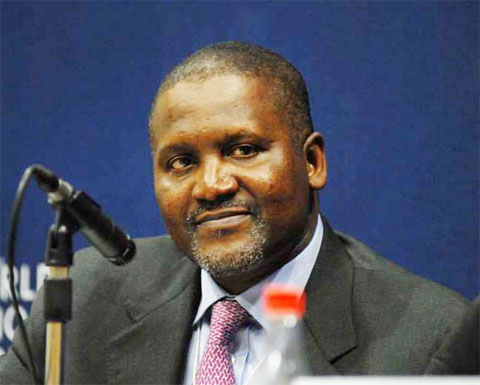 Dangote moves to top list (43rd) richest man in the world