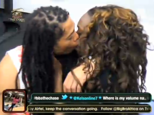 BBA Update: Nigeria's BBA Housemate Beverly Osu Makes Out With South