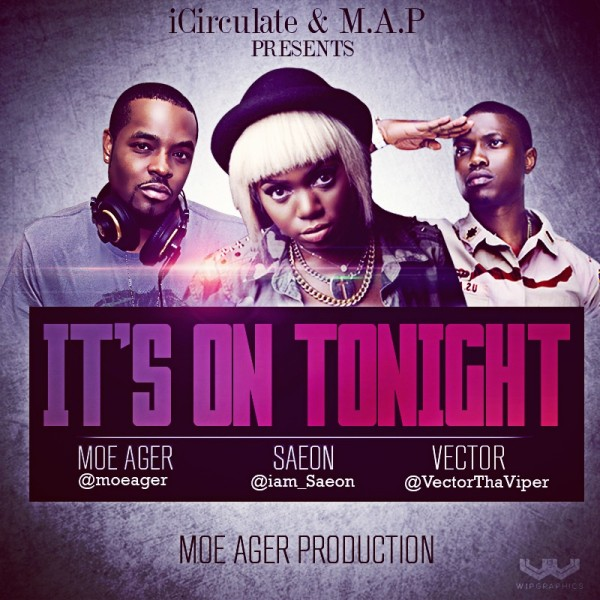 Moe Ager - Its On Tonight-600x600
