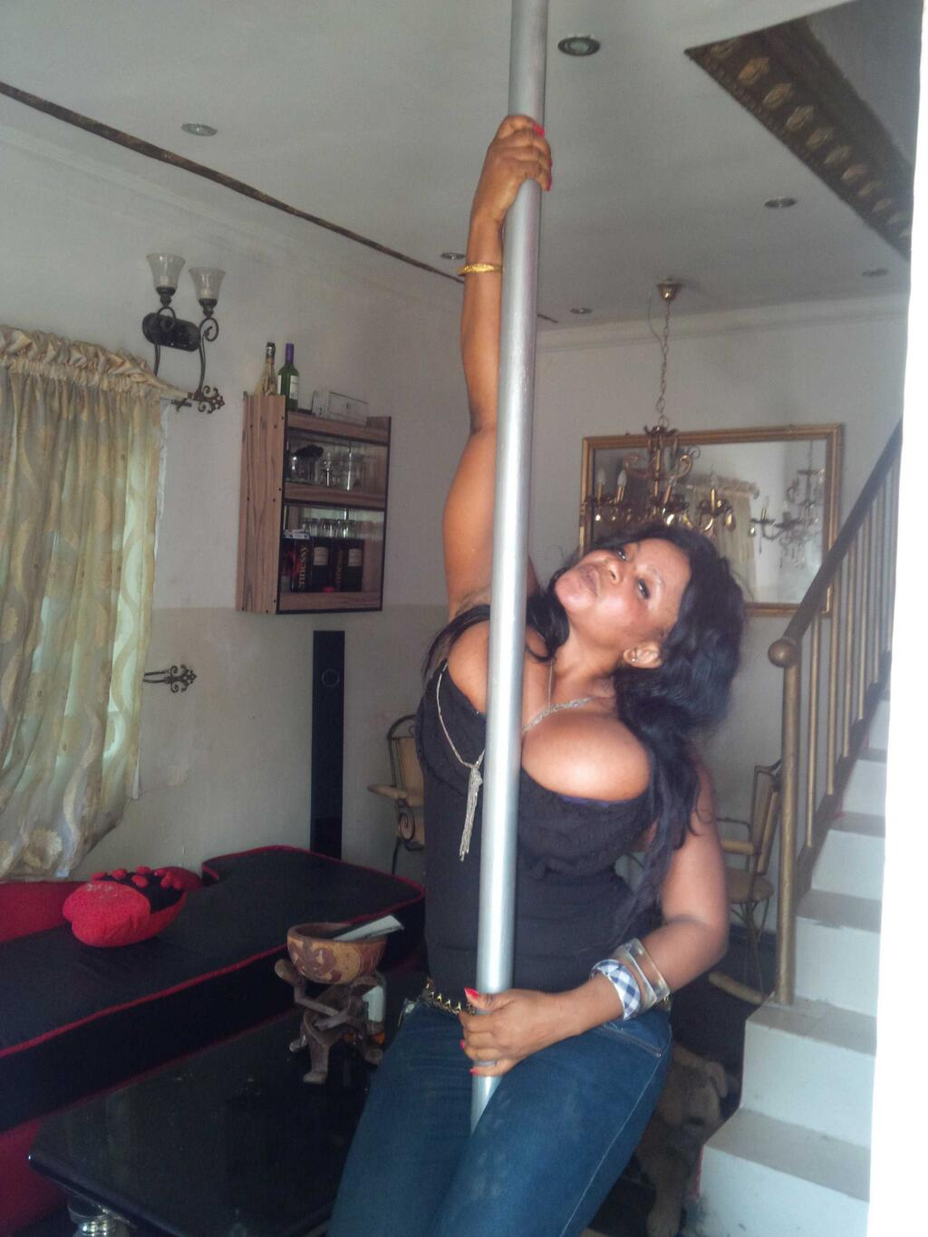 welcome to 47 39 s blog photos cossy orjiakor loving the stripper pole