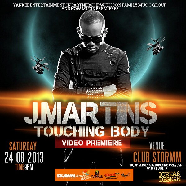 JMARTINS - TOUCHING BODY VIDEO PREMIERE