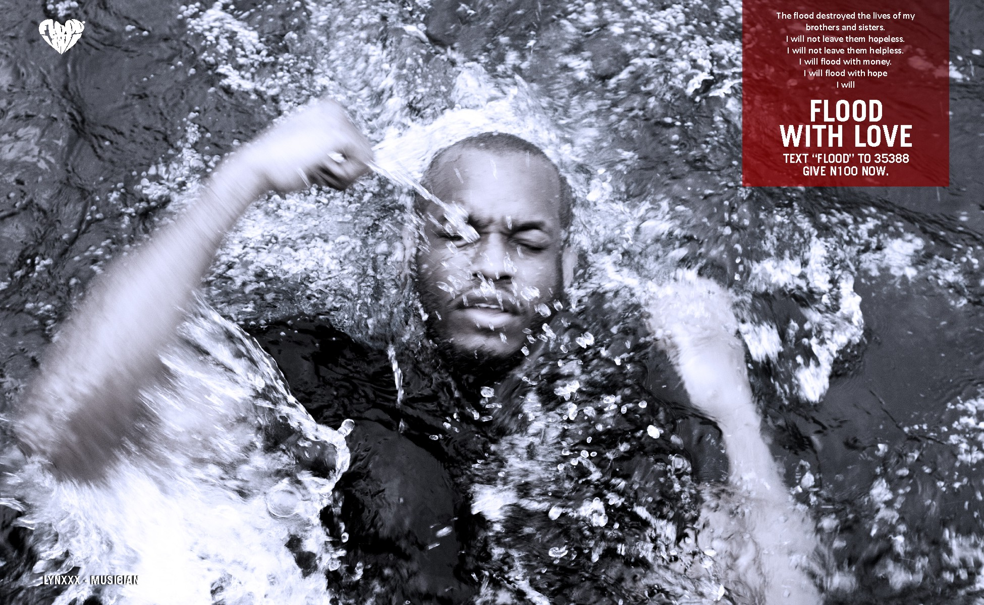 FLOOD WITH LOVE CAMPAIGN (ONLINE)Lynxxx2