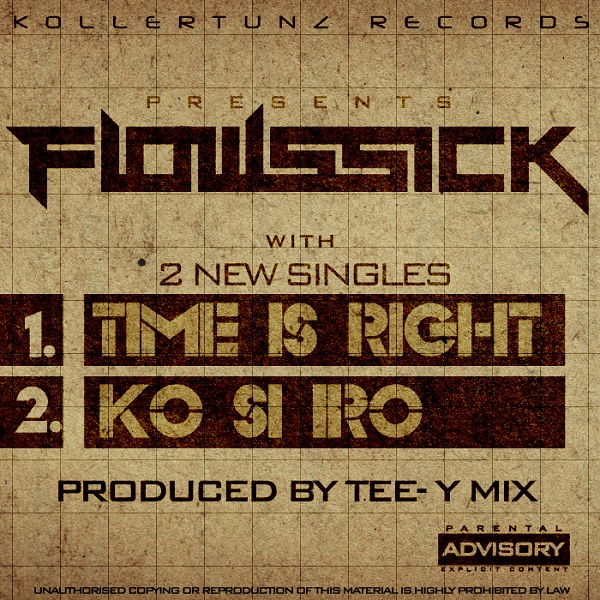 FlowSsick-Time-Is-Right-Art