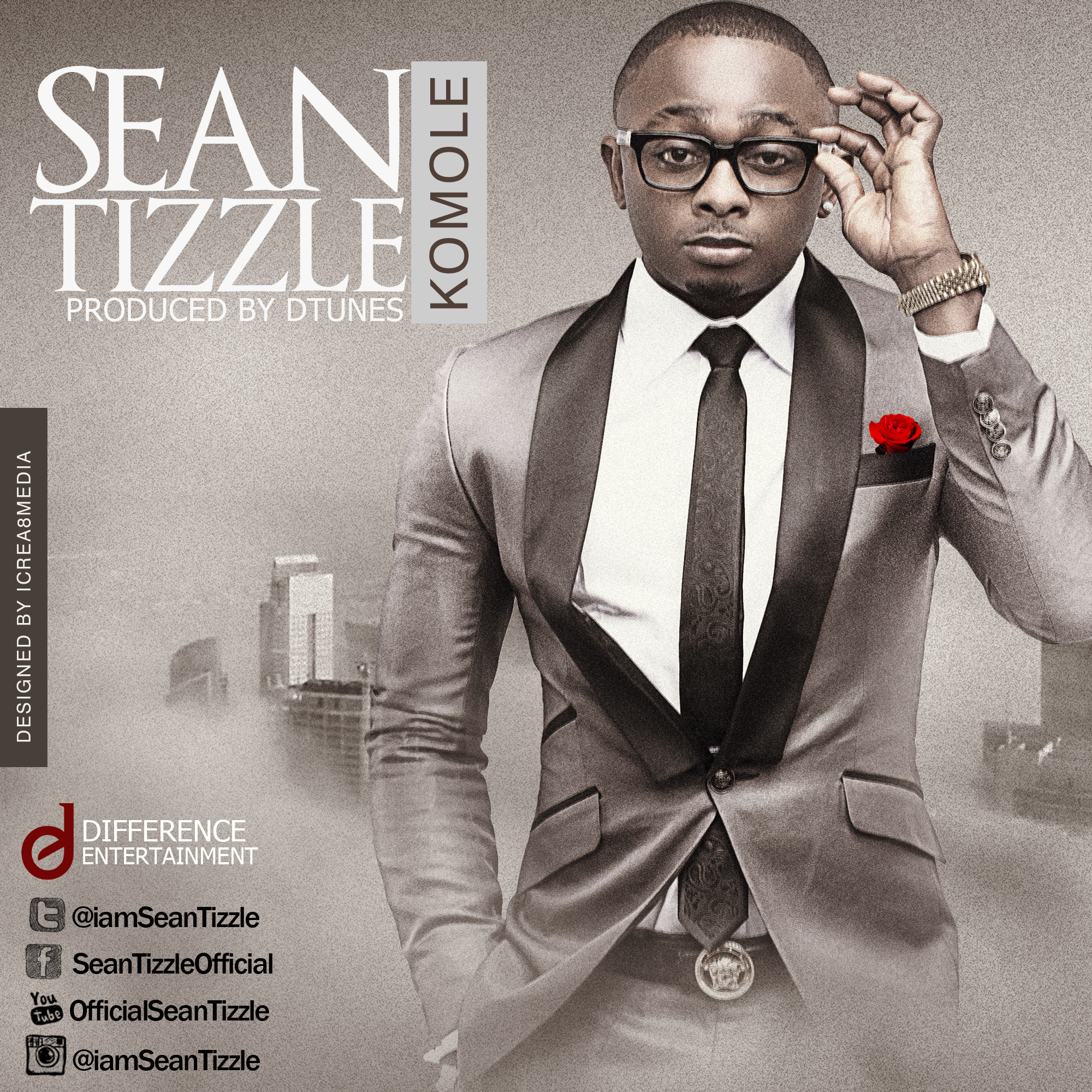 SEAN TIZZLE KOMOLE INTERNET RELEASE ARTWORK MAIN