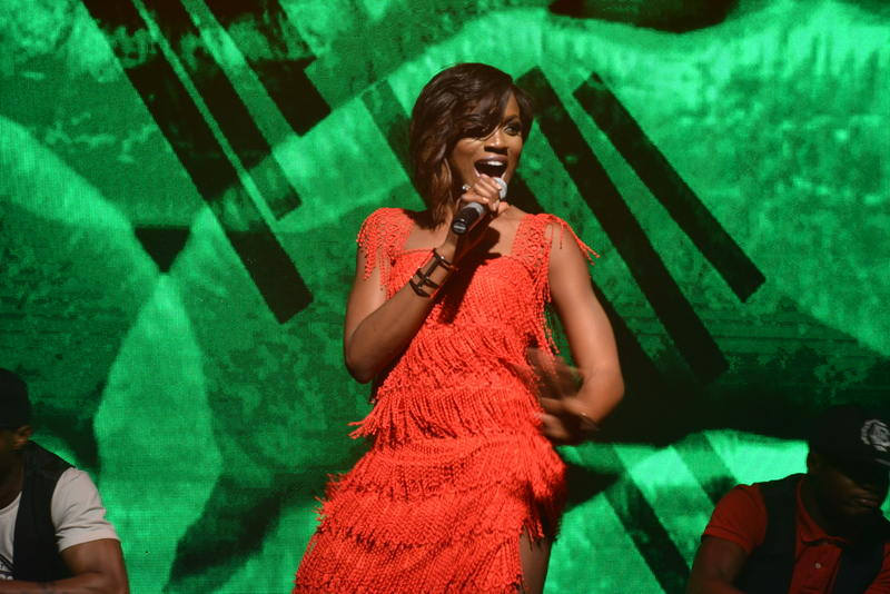 Seyi Shay on stage 2