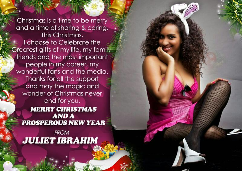 Season's Greetings from Juliet Ibrahim