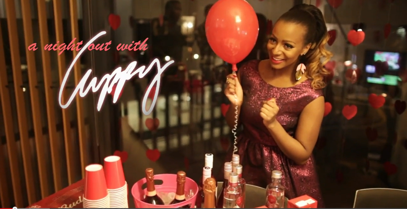 A Night Out With Cuppy (Valentine's Day Edition)