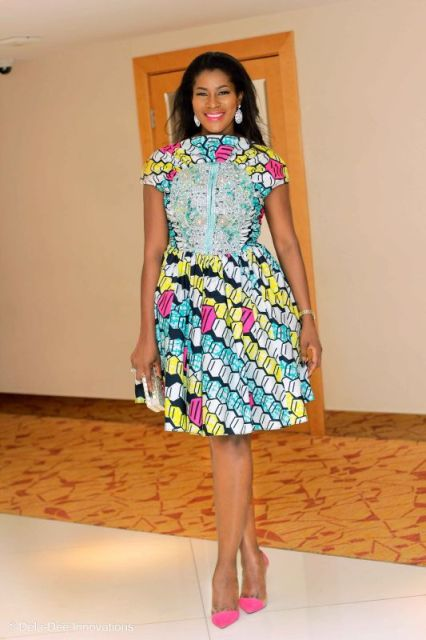 Stephanie Linus at Vlisco Women's Month Award Night024