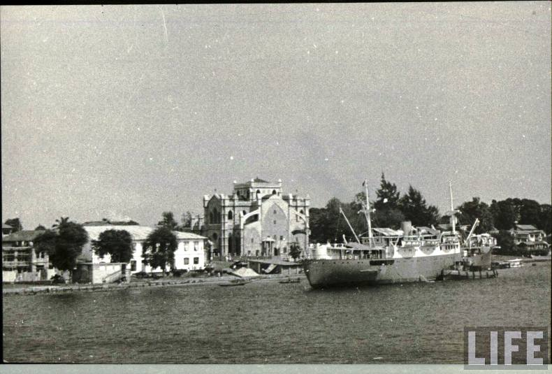 Lagos Island in the 1940s