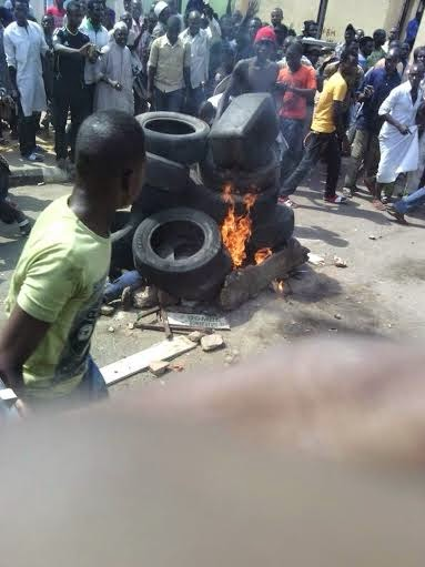 Suspicious Suicide Bomber Burnt By Mob In Gombe | Jaguda.com