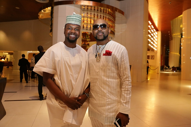 Adebola Williams with Banky W (767x511)