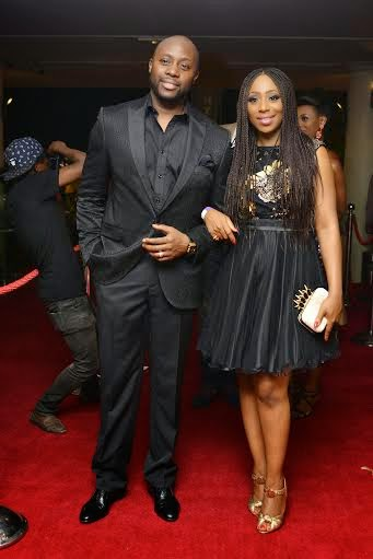 Dakore Akande and hubby