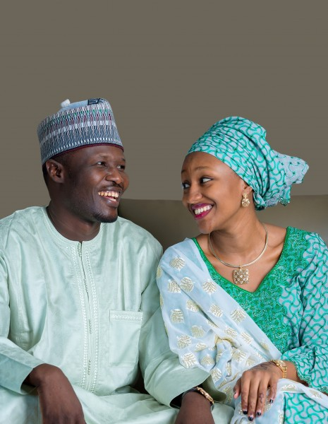 Mohammed-Sheriff-with-wife-Halima-Buhari-Sheriff-Jaguda_465x600