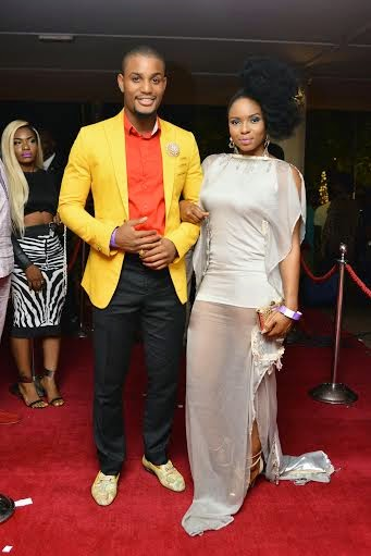 Alexx Ekubo and Yemi Alade