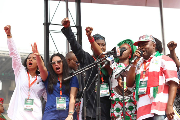 Nollywood-pdp-rally