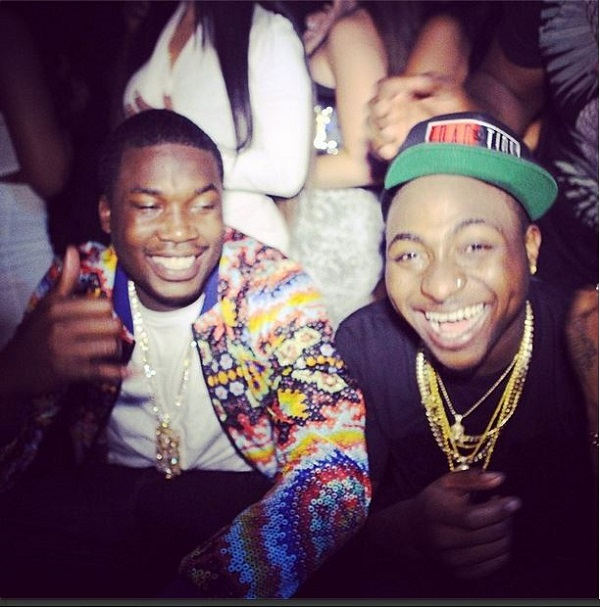 davido and meek mill