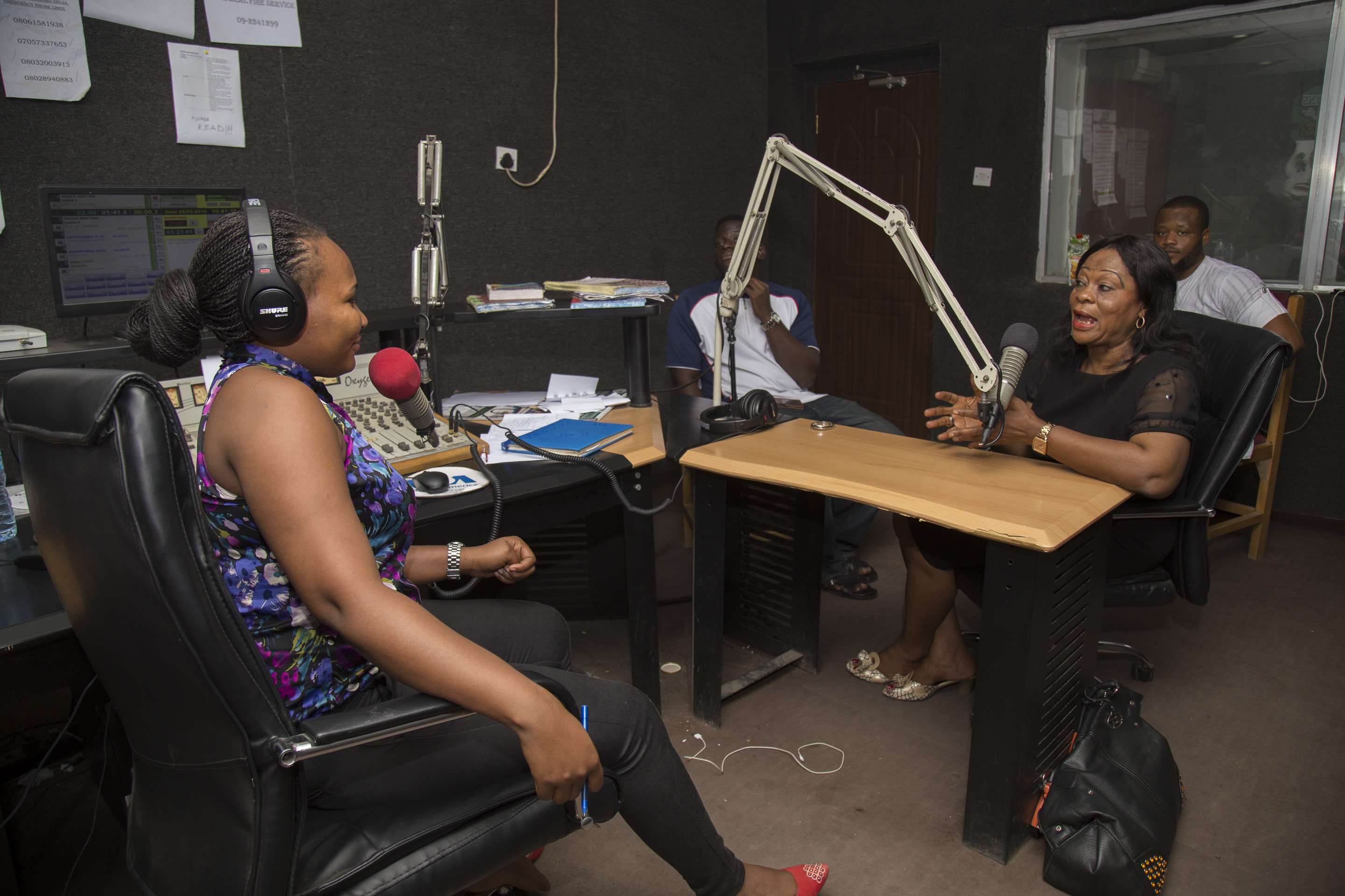 amaka hot fm and the author