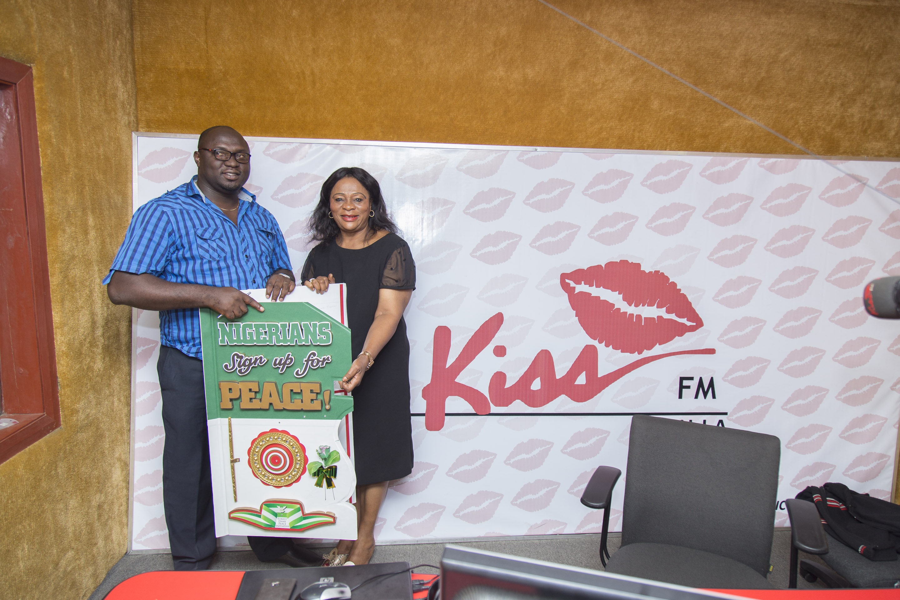 big id of kiss fm and the author