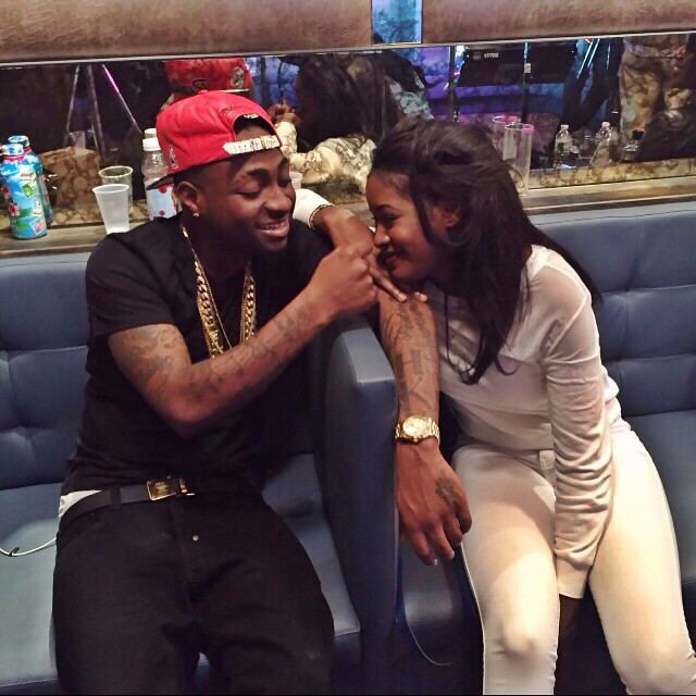 davido and girlfriend
