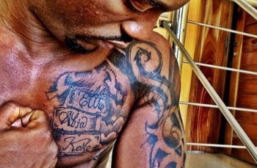 nigerian celebrities with tattoos