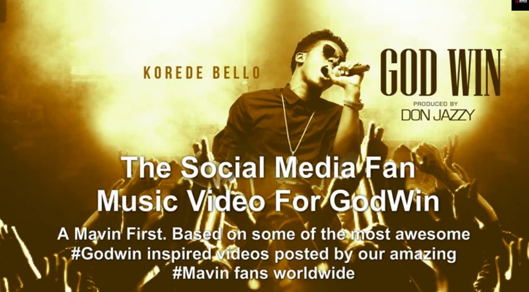 korede bello godwin fan video