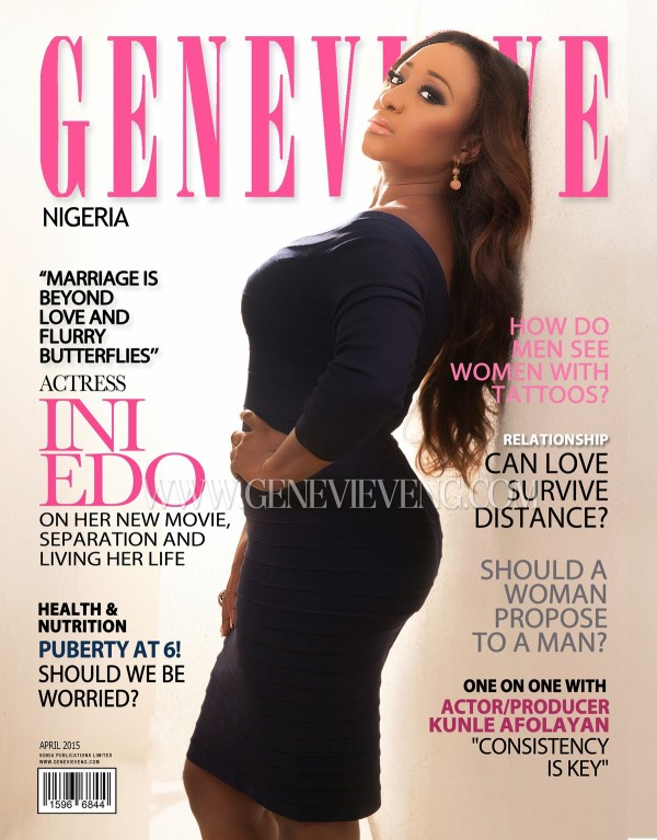 Genevieve magazine april cover ini edo