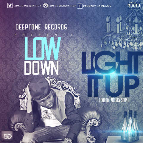 Low Down - LIGHT IT UP [prod. by Mickey Sound] Artwork