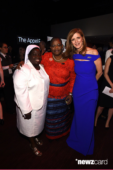 Sister Rosemary Nyirumbe, Obiageli Ezekwesili and Samantha Power (photo credit Larry Busacca  Getty Images)