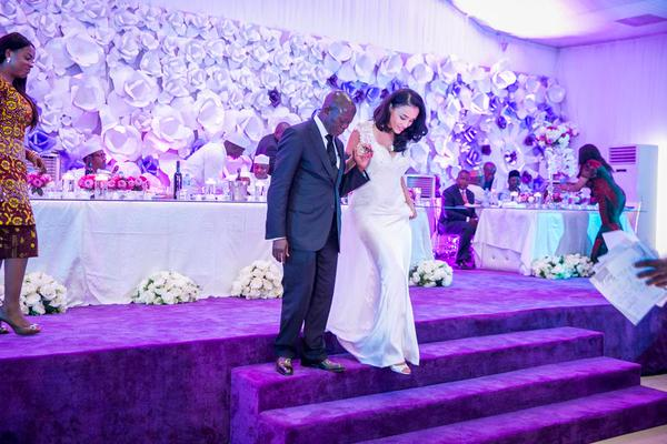Adams Oshiomole and Wife
