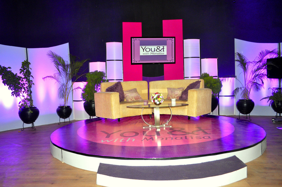 Talk Show Stage Monalisa chinda launches widely anticipated talk show ...