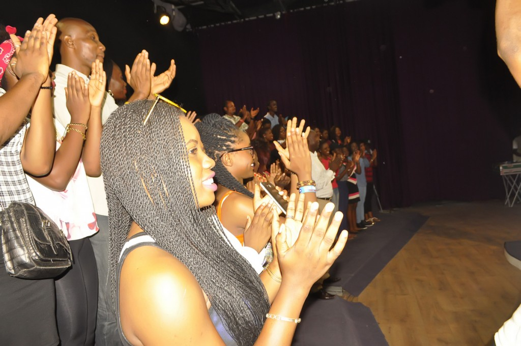 06 Audience Gives Standing Ovation