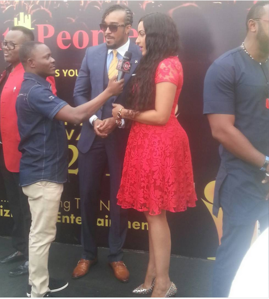 Bryan Okwara and Juliet Ibrahim