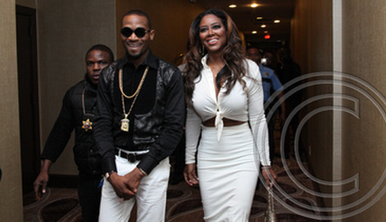 Dbanj-and-Kenya-Moore