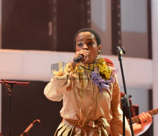 lauryn hill in lagos