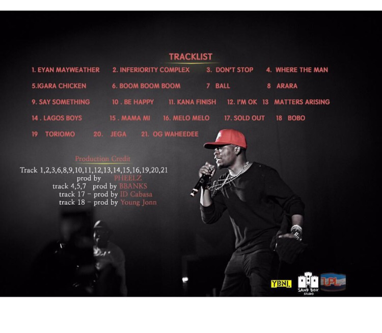 Olamide Release 5th Album, Eyan Mayweather | Download