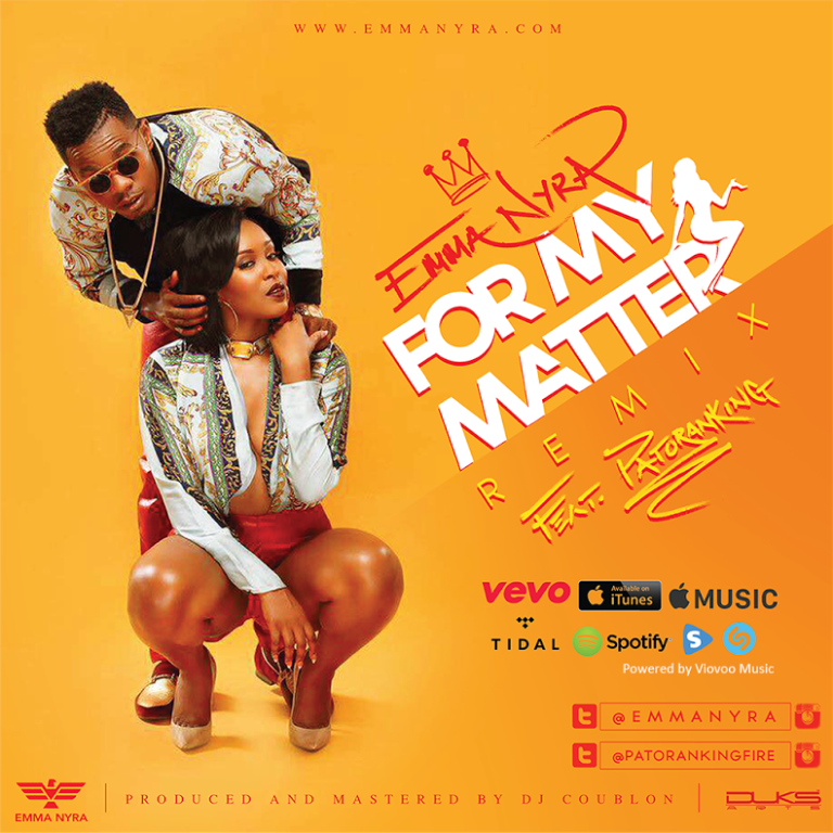 Emma-Nyra-Patoranking-For-My-Matter-Remix-Art