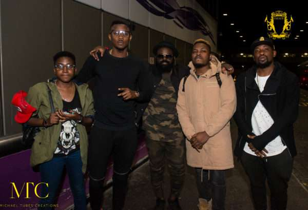 PHOTOS: Lil Kesh Tags Along With YBNL Crew Ahead Of Their UK Tour