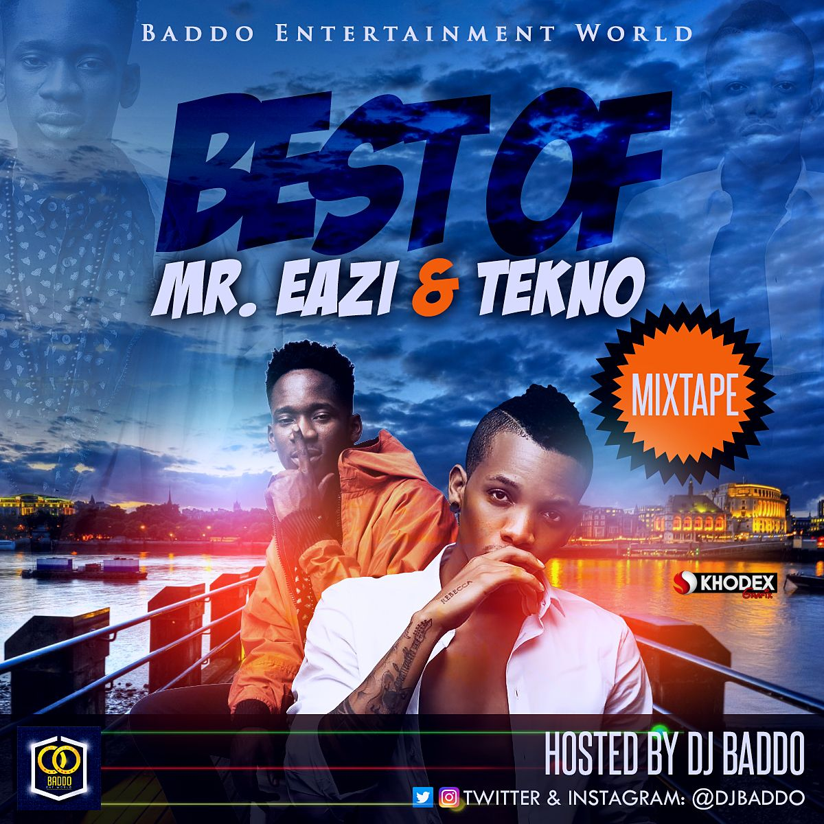 DOWNLOAD MIXTAPE: DJ Baddo - Best Of Mr  Eazi And Tekno | Jaguda com