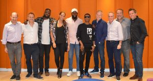 Wizkid and the RCA team