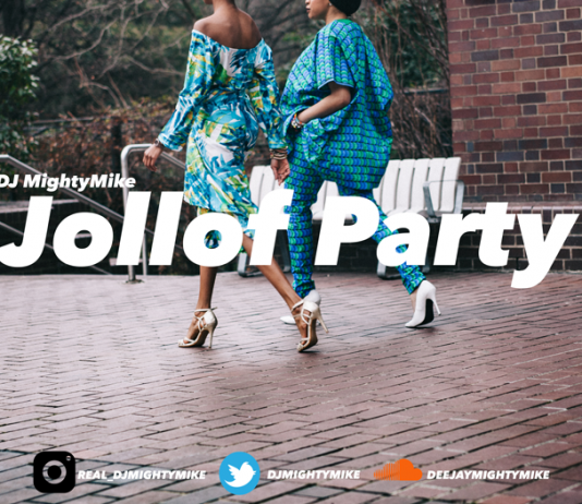 dj mightymike jollof party