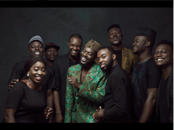 Adekunle Gold & 79th element