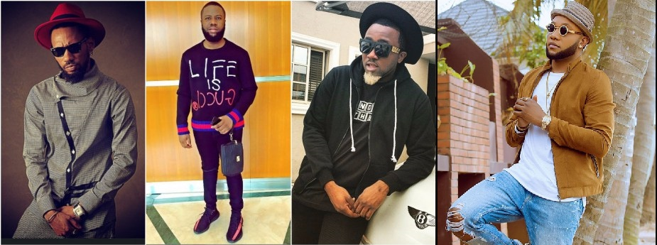 Follow The Savagery Between Hushpuppi, Phyno, Ice Prince And