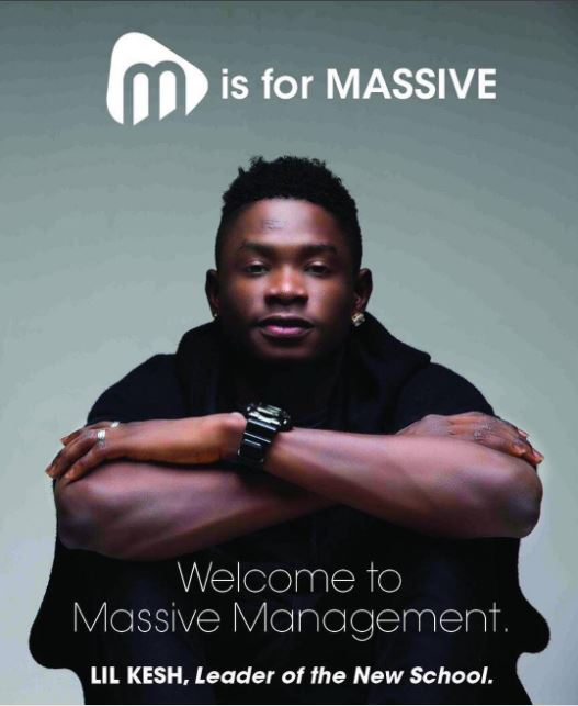 Lil Kesh Massive Management