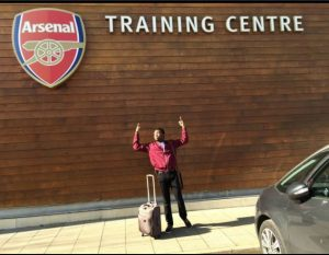 Arsenal n Proud; 6 Nigerian Artistes Who Are Gunners