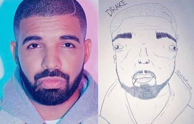Cardi B Drawing: These Drawings Of Cardi B & Drake Will Bring Tears To Your