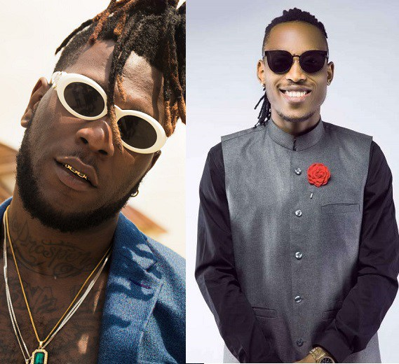 Burna Boy and Mr. 2Kay