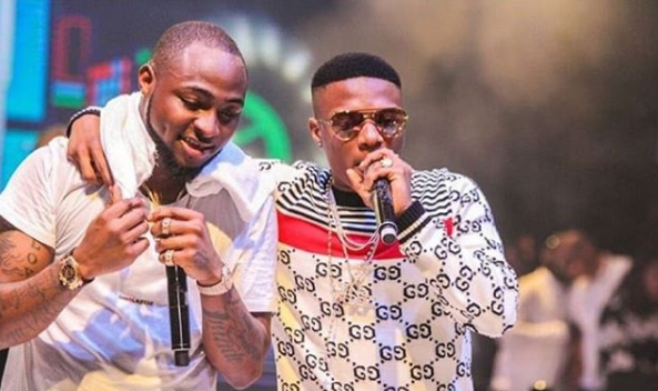 Davido and Wizkid Perform Manya at the 30billionconcert