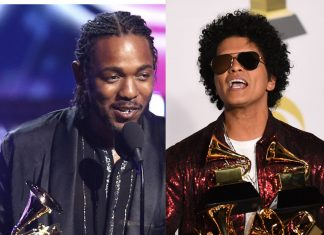 Kendrick Lamar, Bruno Mars Win Big At The 60th Grammy Awards; See Full List Of Winners