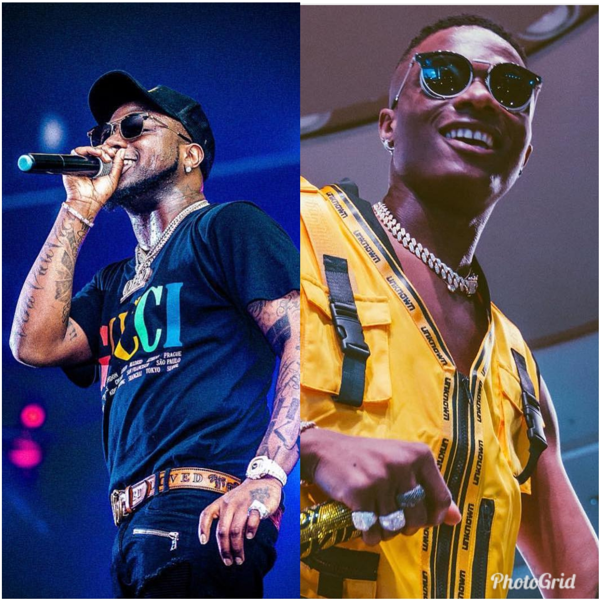 Wizkid 'Fever', Davido 'Assurance' Top Google Most Searched